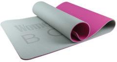 Roze Women's Health Gym Mat - Fitnessmat – yogamat – fitnessaccessoires - Home Fitness