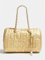 Oro Guess Borsa Ginger Logo Impresso