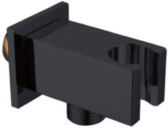 Handdouchehouder Best Design Nero-Stool opsteek muuraansluiting Mat Zwart