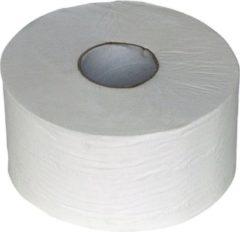 Merkloos / Sans marque Toiletpapier mini jumbo 2L wit 180m/pk12