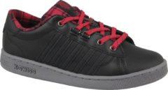 K-Swiss Hoke Plaid 85111-050, Vrouwen, Zwart, Sneakers maat: 39 EU