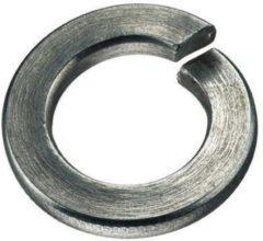 Proftec veerring vlakke einden, staal, elektrolytisch verzinkt, voor boutmaat (M.) 8