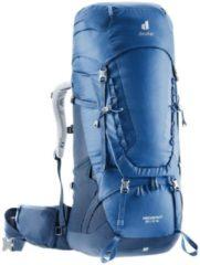 Deuter - Women's Aircontact 50+10 SL - Trekkingrugzak maat 50 + 10 l, blauw/grijs