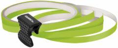 Universeel Foliatec PIN Striping voor velgen incl. montage hulpstuk - neon groen - 4 strips 6mmx2,15meter & 1 t