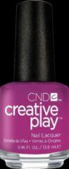 Paarse CND™ Creative Play™ CND Creative Play - Drama Mama #476 - Nagellak