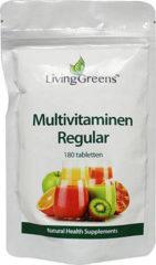 Groene Livinggreens Multi Vitaminen En Mineralen (180tab)