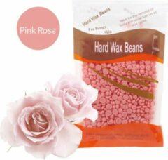 Roze DW4Trading® Hard wax beans 100 gr ontharen harsen lichaam gezicht spatels Rose