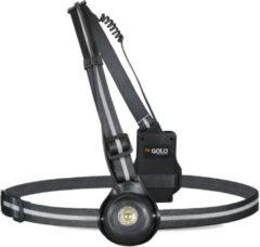 Gato Sports Gato Reflectievest - Maat One size - Unisex - zwart/zilver