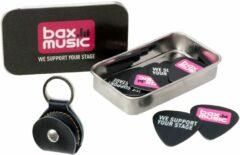 Bax Music plectrumdoosje & Fazley PB01 plectrumhouder