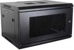"""Alfaco 19-6412PP, 12U, 19"""" serverkast - wandkast met geperforeerd voordeur, (BxDxH) 600x450x643mm"""