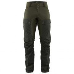 Fjällräven - Keb Trousers - Trekkingbroeken maat 46 - Regular - Fixed Length, bruin/olijfgroen