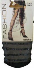 Zwarte Merkloos / Sans marque Dames sokken fashion