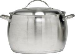 Zilveren Cosy&Trendy Cosy & Trendy Thymo Soep- Kookpan - Ø 24 Cm