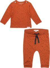 Oranje Noppies SET (2delig) Biologische kleding Ginger met stip - Maat 44