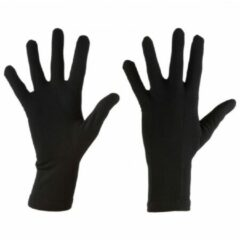 Zwarte Icebreaker - Oasis Glove Liners - Handschoenen maat XS zwart