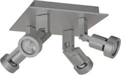 Artdelight 4-lichts Spot Tech Aluminium
