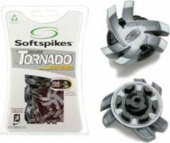 Black WOW Solft Spikes Tour Lock 3.0 Silver Tornado