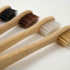Chimb Bamboo - Bamboe Ecologische Tandenborstel – Set van 4 stuks - Volwassen – Recyclebaar en Biologisch afbreekbaar – Toothbrushes