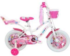 14 Zoll Mädchen Fahrrad Hoopfietsen... weiß
