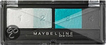 Maybelline Eye Studio Maybelline Eyestudio Quads - 26 Turquoise - Oogschaduw Palet