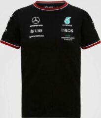 Zwarte Mercedes GP Team Kids Driver T-shirt Black- 92