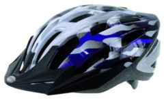 Ventura Fahrradhelm Silber-Blau