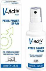 HOT (all) HOT V-Activ penis power spray for men - 50 ml - Delay Spray & Gel