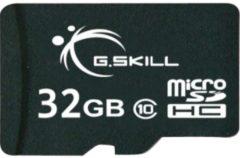 G.Skill Speicherkarte microSDHC 32 GB G.Skill Schwarz