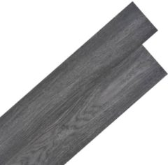 VidaXL Vloerplanken zelfklevend 5.02 m² 2 mm PVC zwart en wit
