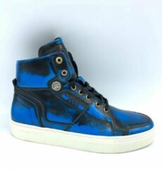 Blauwe Merkloos / Sans marque Pantofola Doro Mondica Dandy Brush Maat 42