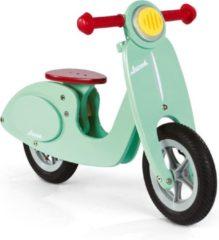Groene Janod Houten Loopfiets - Scooter Mint