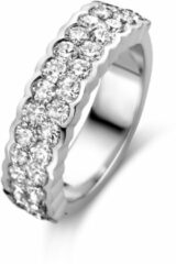 Witgouden ring met diamant ZZ1-08740-W