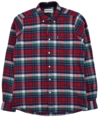 Rode Barbour High Chk 18 TF Red