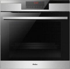 Roestvrijstalen Amica ED57529 - X-Type Lijn - Inbouwoven XXL - 77 L - Grill 1500 W - Oven 3600 W