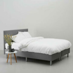 Grijze Whkmp's own complete boxspring Malby (180x200 cm)