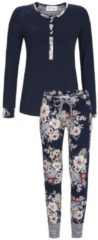 Pyjama mit floralem Print Ringella dark navy