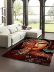Rode Vloerkleed Merinos Marrokko Collectie (1,60x2,30)