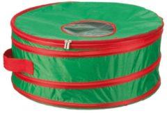 Rode Sunware Kersttas - voor kleine kerstkrans - Ø450x180mm