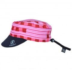 Chaskee - Junior Reversible Cap Fancy Lines - Pet roze/zwart