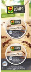 Compo Mieren en mierennesten natuurlijk bestrijden - 2 lokdoosjes - set van 6 stuks