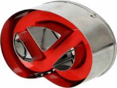 Zilveren Miro Ecommerce Koekvorm – Krakeling vorm – koekjes snijder – Mal – mallen – koek vorm