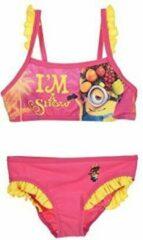 Fuchsia Bikini van Minions maat 104