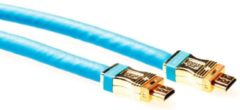 Advanced Cable Technology Intronics - 1.4 High Speed HDMI kabel - 10 m - Blauw