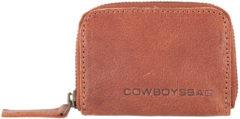 Bruine Cowboysbag Purse Holt Portemonnee 1517 Cognac