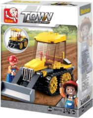 Sluban Bouwstenen Town Serie Kleine Bulldozer Bouwstenen Town Serie Kleine Bulldozer