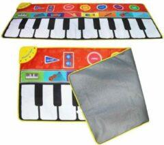Nagtegaal trading Piano Speelkleed voor Kinderen - Keyboard Speelmat met Geluid