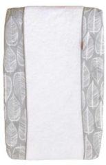 Grijze Witlof for kids Beleaf aankleedkussenhoes warm grey/wit