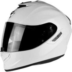 Scorpion EXO-1400 Air Solid Pearl WitIntegraalhelm - Motorhelm - Maat L