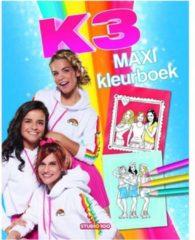 Studio 100 maxi kleurboek K3 35 cm blauw