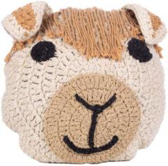Kids Depot KidsDepot - Animal Kussen Alpaca - Decoratie Kinderkamer